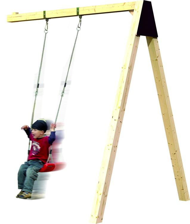 Kinder-Schaukel KARIBU Fidibus Anbau-Einzelschaukel