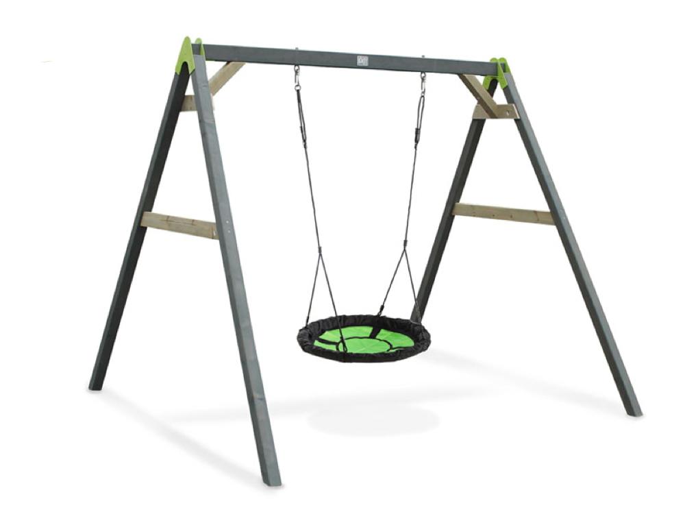 Kinder-Schaukel EXIT Aksent Nestschaukel Holzschaukel, Einzelschaukel