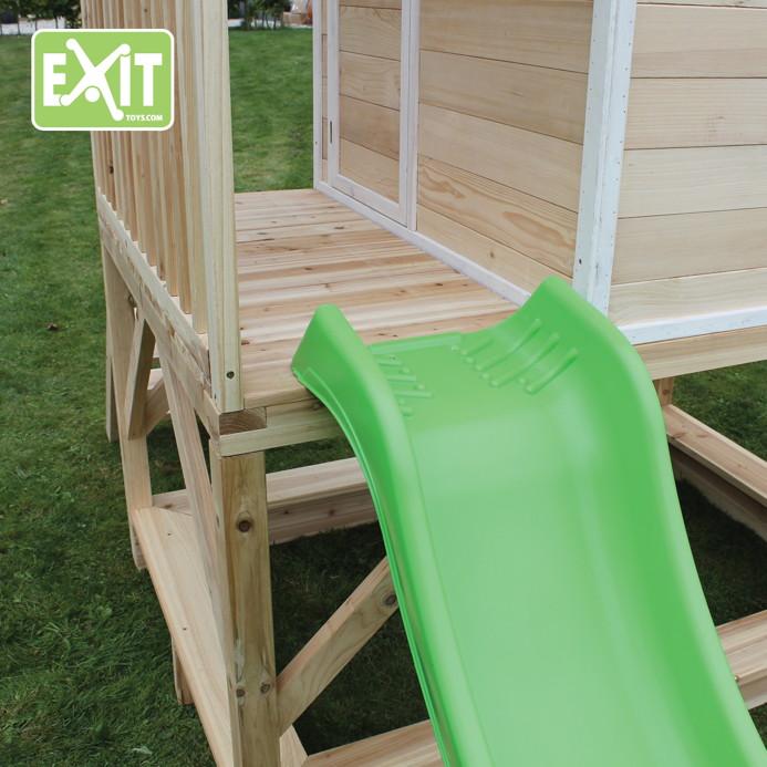 kinder spielhaus exit loft 550 kinderspielhaus holzhaus. Black Bedroom Furniture Sets. Home Design Ideas