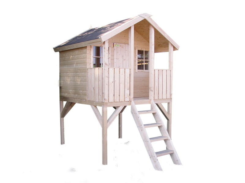 kinder spielhaus tree chambers kids carlotta stelzenhaus. Black Bedroom Furniture Sets. Home Design Ideas