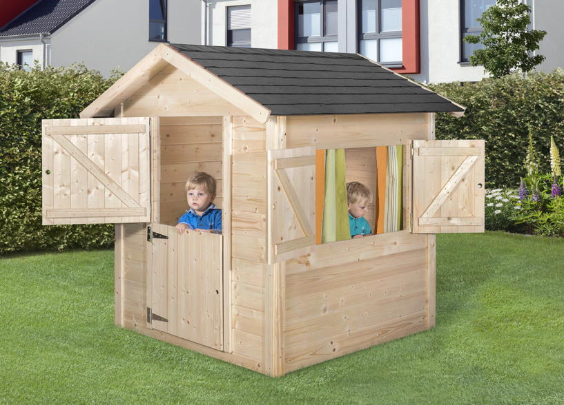 Kinder Holz Spielhaus WEKA «Tabaluga Drachenhöhle»  Spielhaus
