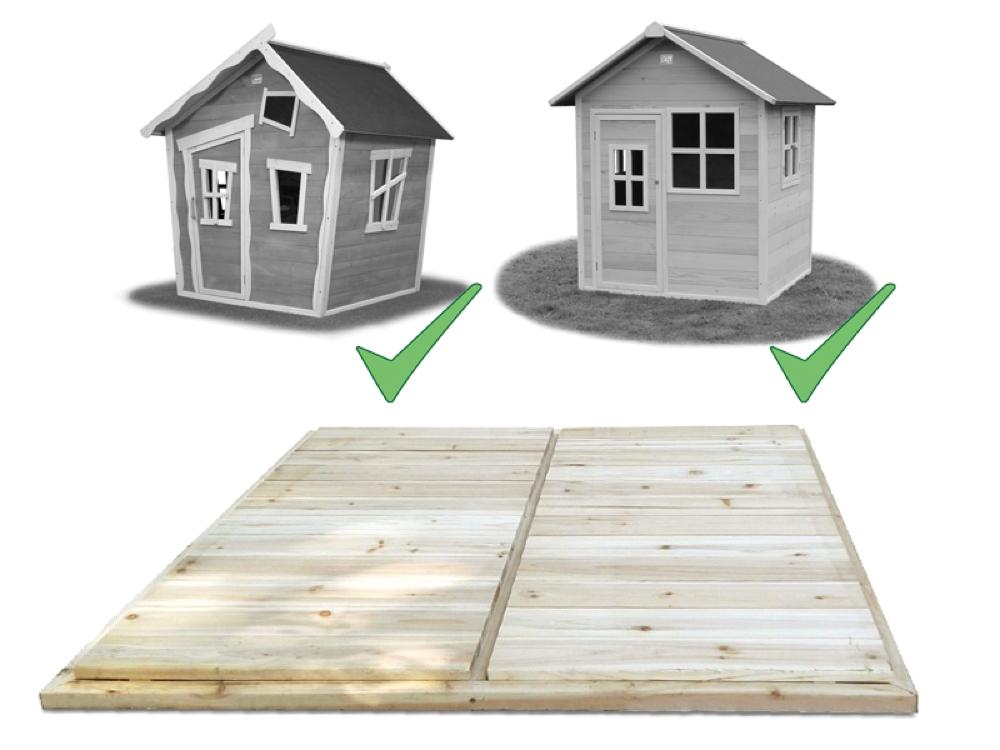 holz boden fu boden f r kinderspielhaus zum austausch oder. Black Bedroom Furniture Sets. Home Design Ideas
