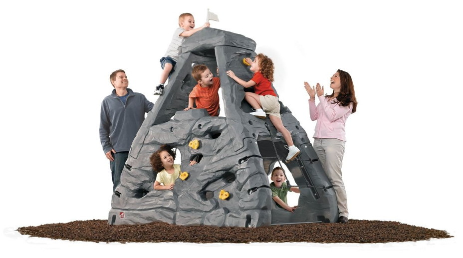 kinder kletterturm step2 kletterfels kiddimanjaro kletterwand spielturm kletterturm. Black Bedroom Furniture Sets. Home Design Ideas