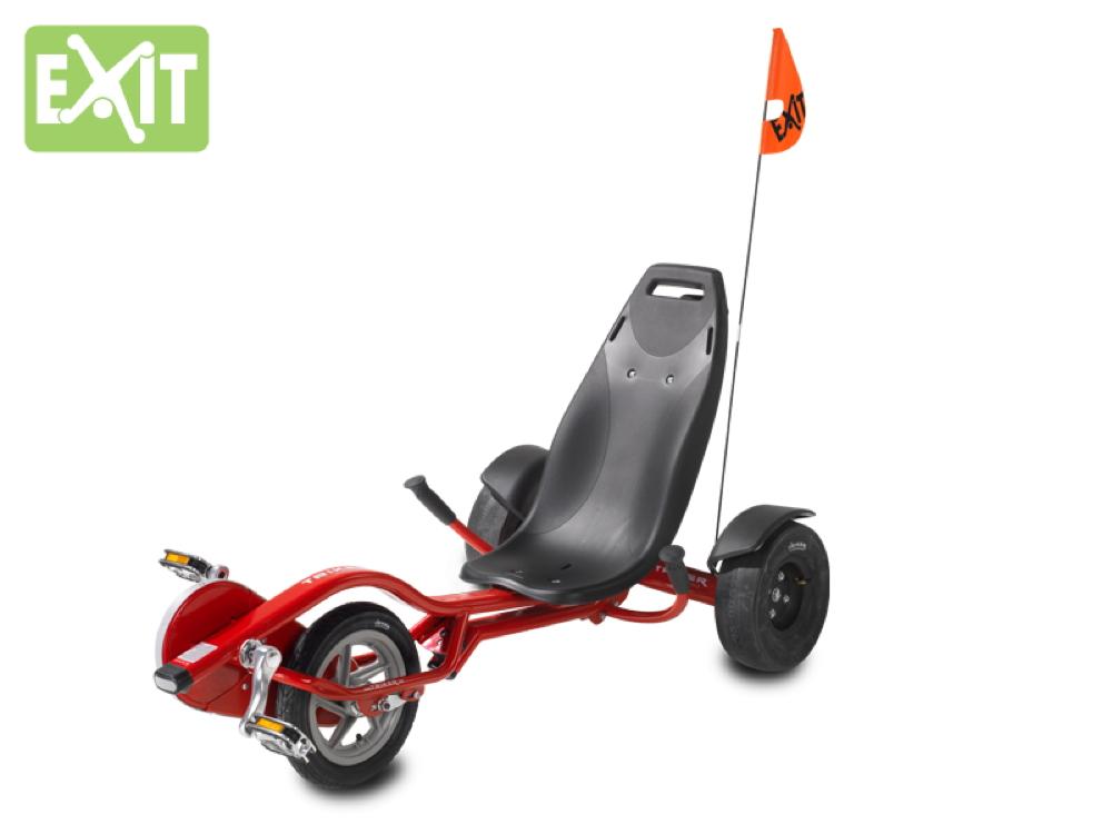 kinder dreirad exit trike pro 100 rot sitzfahrrad. Black Bedroom Furniture Sets. Home Design Ideas