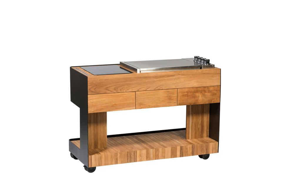 Outdoor Küche Kaufen : Outdoorküche indu «cookboy küchentrolley set mit multi zone