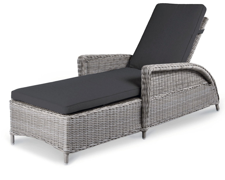 polyrattan liege mit sonnenschirm bestseller shop mit. Black Bedroom Furniture Sets. Home Design Ideas