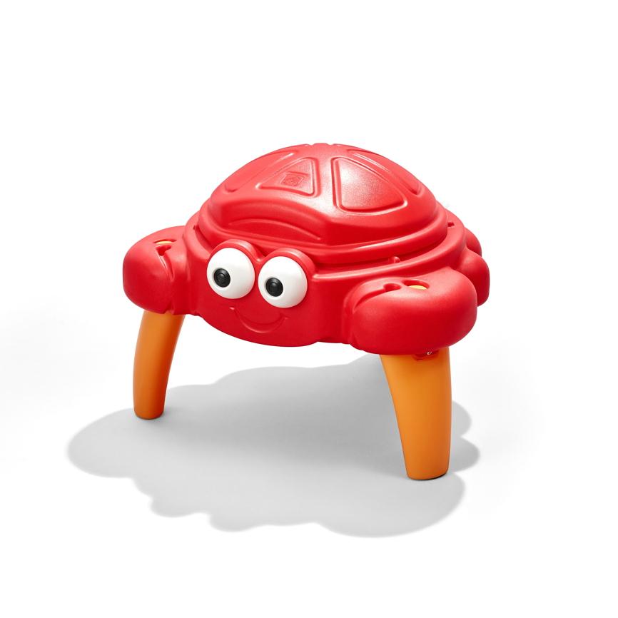 sandkasten step 2 crabbie sandtisch spieltisch holz. Black Bedroom Furniture Sets. Home Design Ideas
