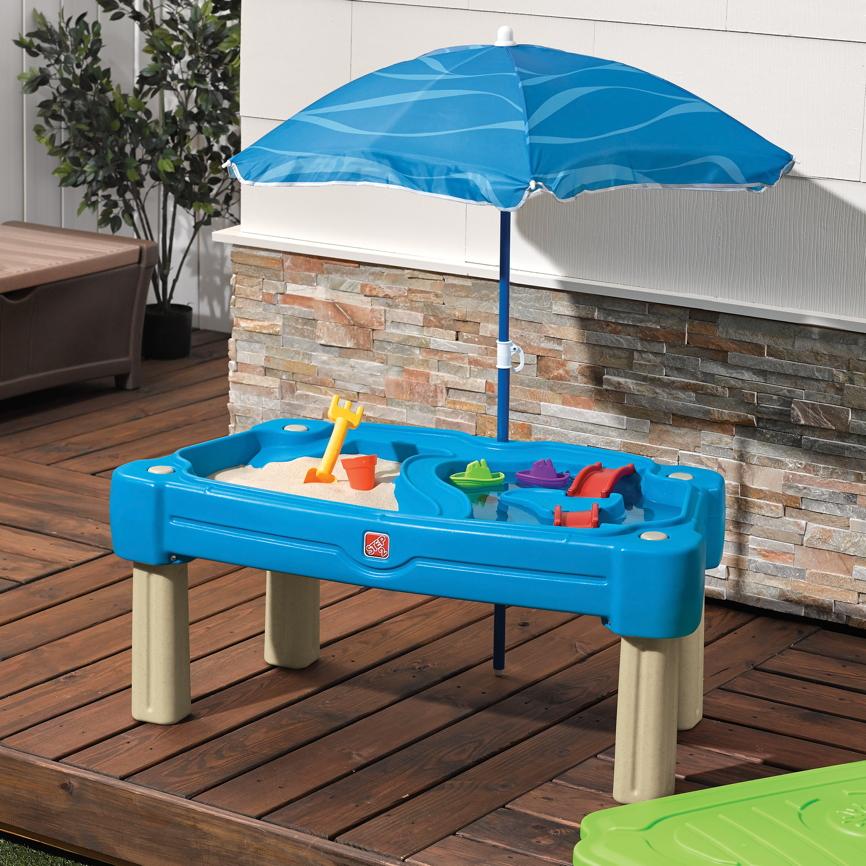 wasser sand spieltisch step 2 cascading cove wassertisch. Black Bedroom Furniture Sets. Home Design Ideas