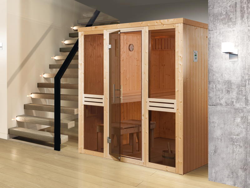 el sauna 506 glast r gr 3 heimsauna selbstbau sauna. Black Bedroom Furniture Sets. Home Design Ideas