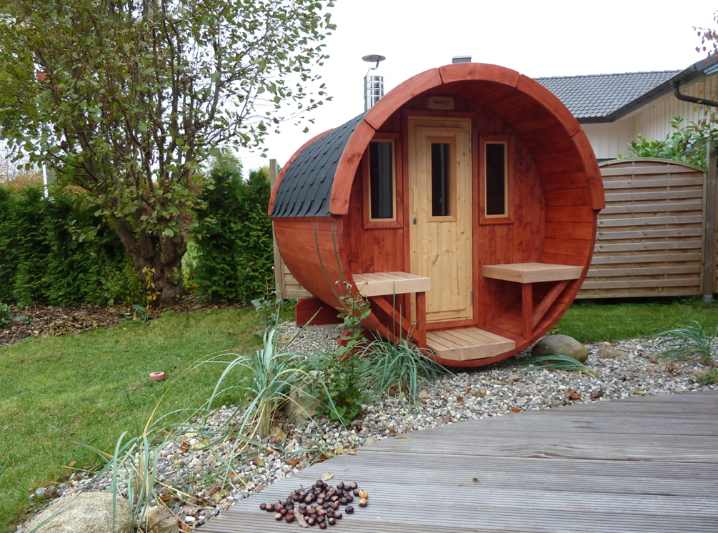 gartensauna wolff saunafass 250 sauna haus aussensauna fasssauna aus holz vom sauna fachh ndler. Black Bedroom Furniture Sets. Home Design Ideas