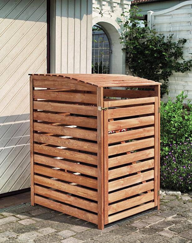 serina mulltonnenbox holz 240 l. Black Bedroom Furniture Sets. Home Design Ideas