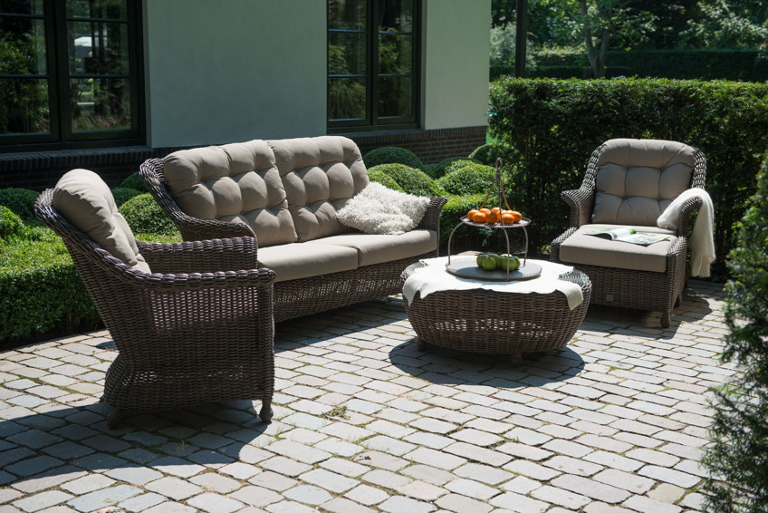 polyrattan outdoor sitzgruppe 4seasons madoera dining sitzgruppe geflecht gartenm bel fachhandel. Black Bedroom Furniture Sets. Home Design Ideas