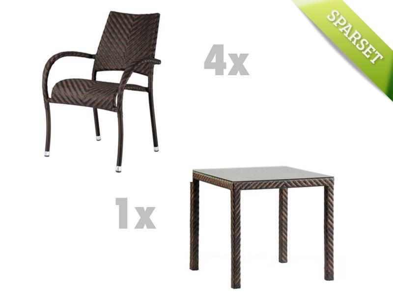 sitzgruppe alexander rose ocean fiji gartenm belset korbm bel set 5 gartenm bel fachhandel. Black Bedroom Furniture Sets. Home Design Ideas