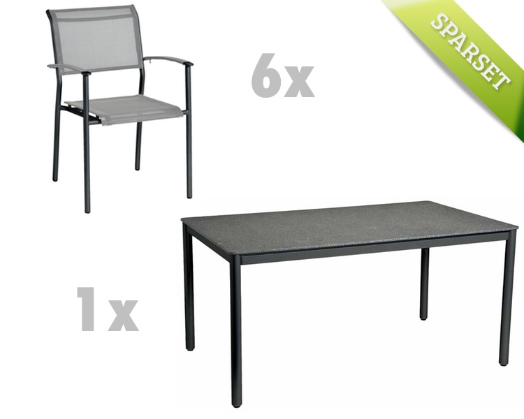 Sitzgruppe Alexander Rose Portofino Lite Gartenmöbel Set 2