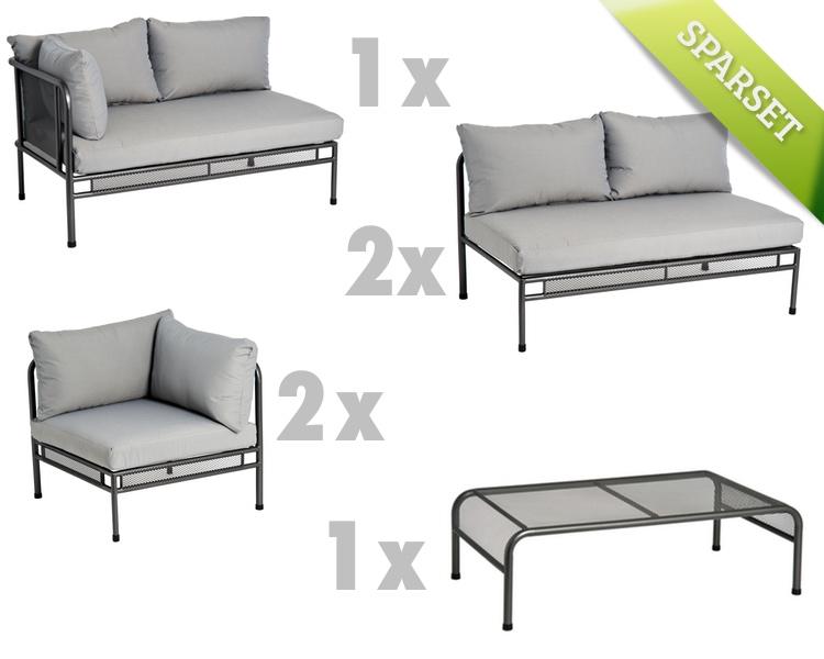 Sitzgruppe Alexander Rose «Portofino Lounge» Gartenmöbel Set 2