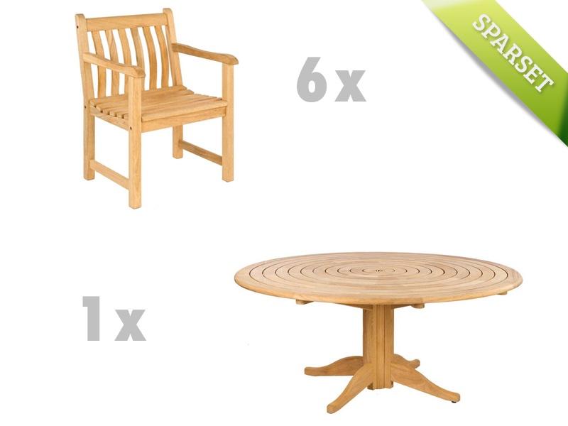 Sitzgruppe Alexander Rose Roble Gartenmöbelset Set 1