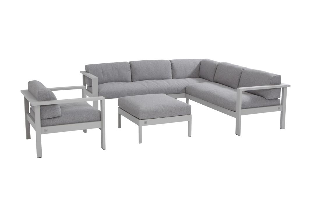 Sitzgruppe 4Seasons Galaxy Loungesitzgruppe Set 2, Gartenmöbel, Aluminium