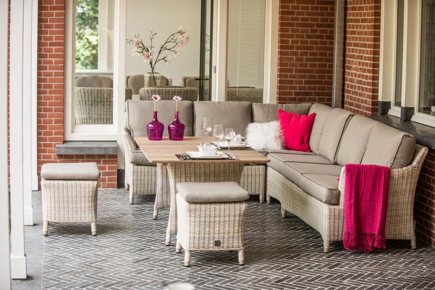 Gartenstuhl «Valentine» Lounge-Sitzgruppenelement ...