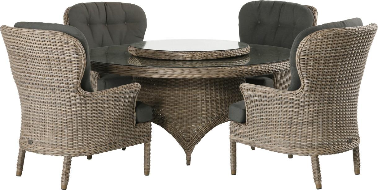 gartenstuhl 4seasons buckingham pure sessel loungesessel korbsessel gartenm bel fachhandel. Black Bedroom Furniture Sets. Home Design Ideas