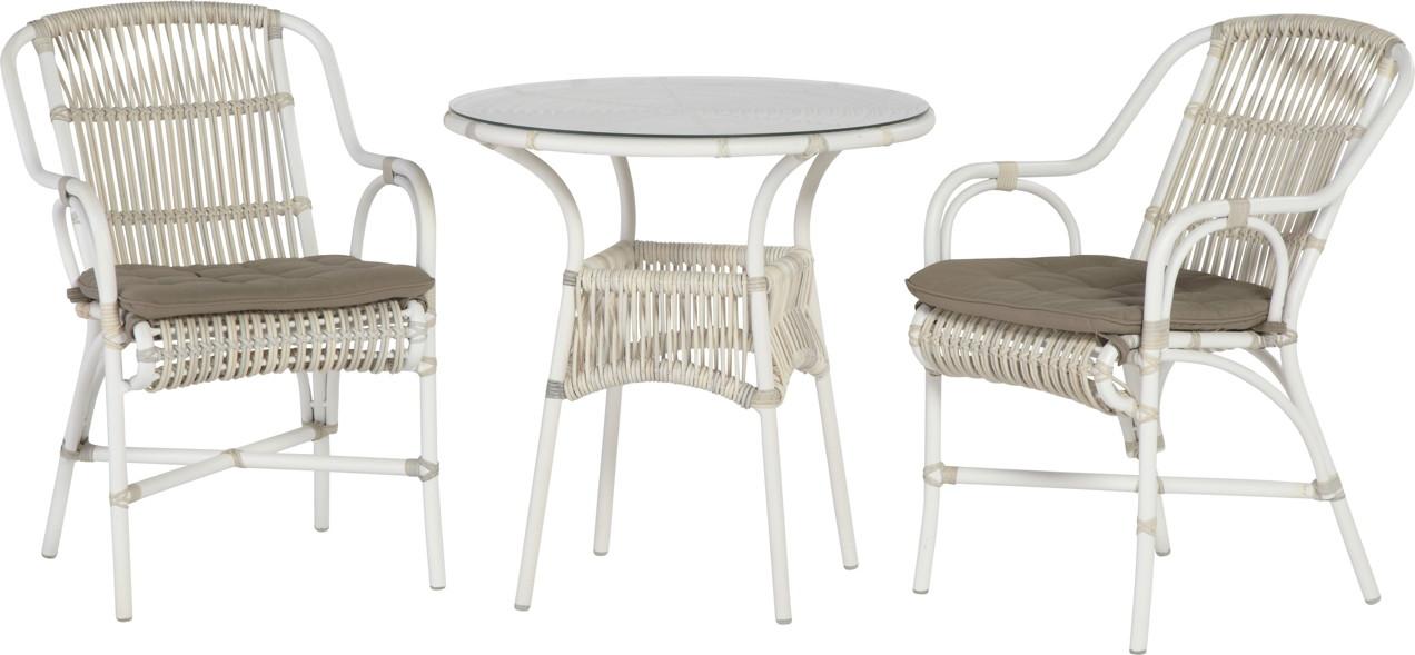 Sitzgruppe 4SEASONS «Loire» Gartenmöbel Set 1, Korbmöbel, Rattan ...