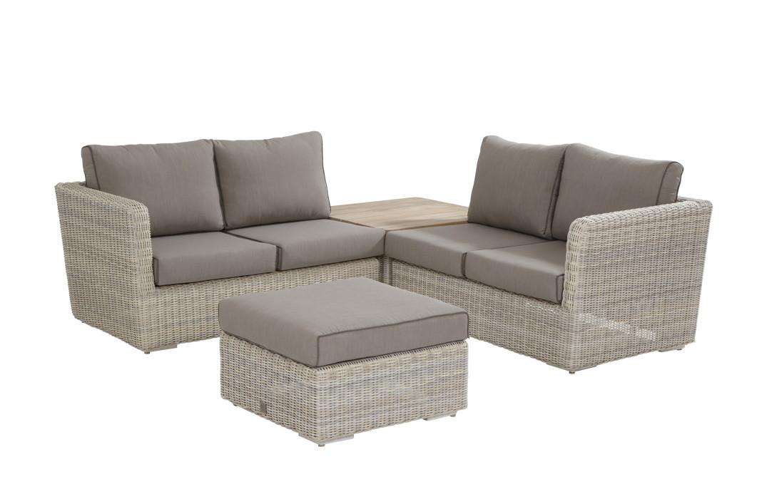 Sitzgruppe Elite PROVANCE Korbmöbel Set 1, Rattan, Geflecht, Gartenmöebelset