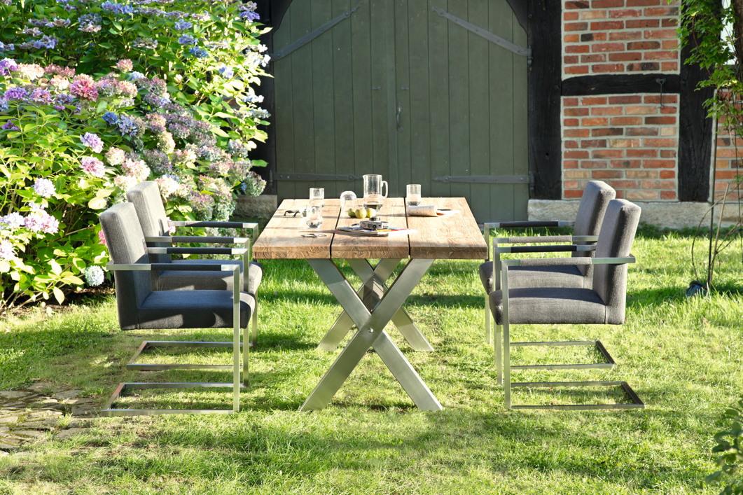 Niehoff Outdoor Küchen : Gartentisch niehoff «nona esstisch teakholz recycled