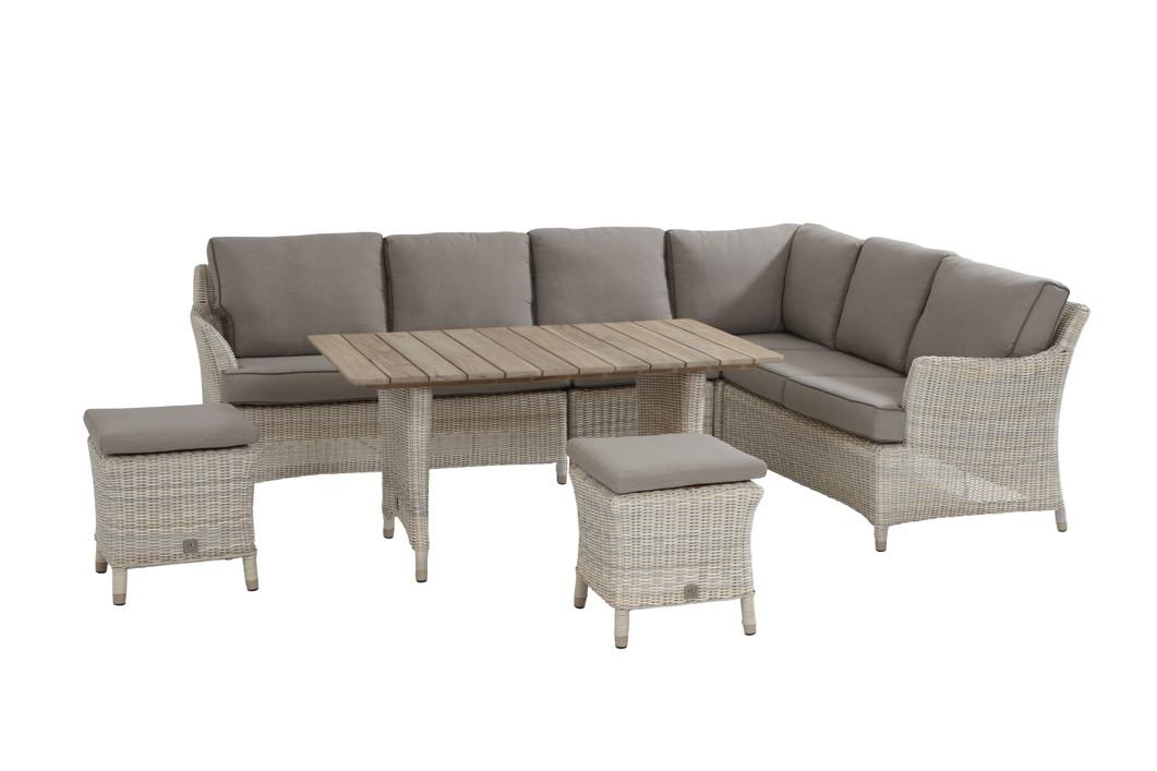 Lounge-Sitzgruppe Valentine Cosy PROVANCE Gartenmöbelset 1 Korbmöbel