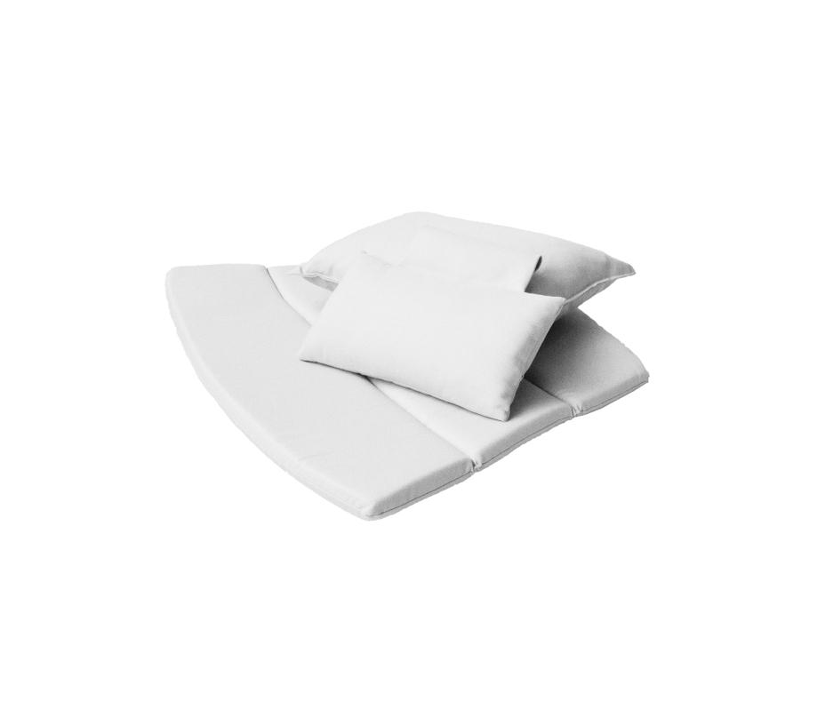 Sitzauflage Cane-line Breeze 2tlg. Sitzkissen-Set f�r Loungesessel high