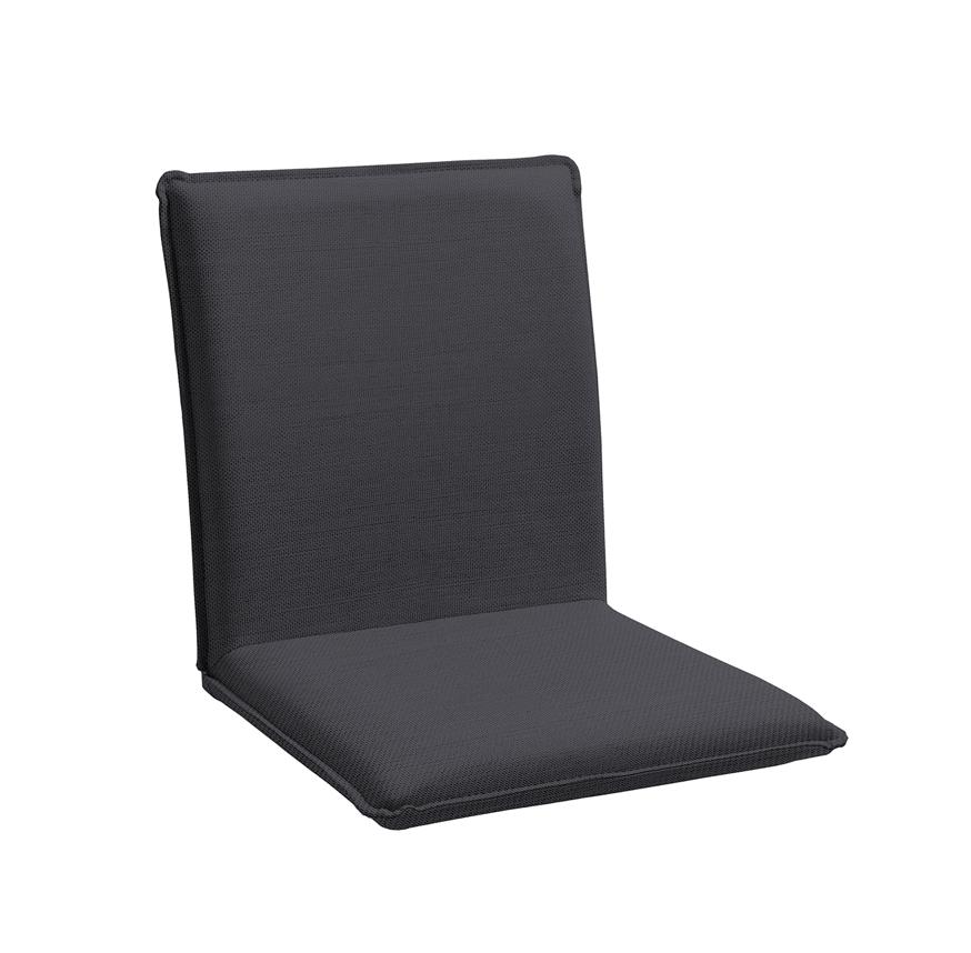 Sitzschale NIEHOFF NETTE Sitzkissen für Gartenbank Batyline anthrazit
