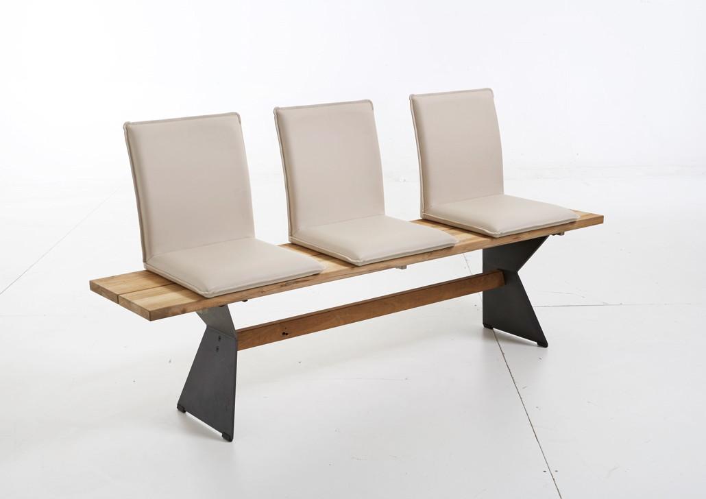 sitzgruppe niehoff noah nero gartenm ebel set 2 teakholz ge lt edelstahl niehoff. Black Bedroom Furniture Sets. Home Design Ideas