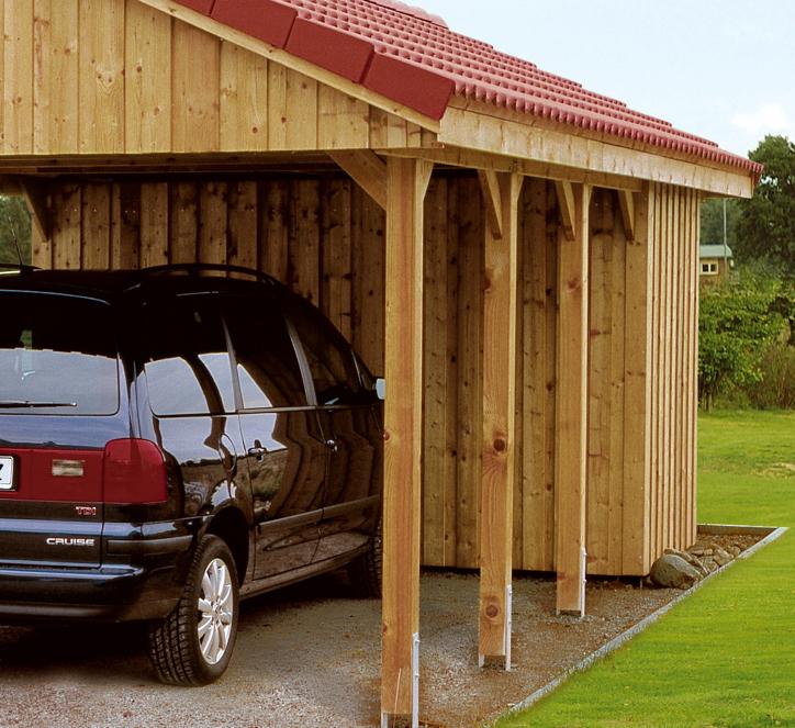Carport-Geräteraum SKANHOLZ «Abstellraum Deckelschalung» Fahrrad-Garage |  vom Garten-Fachhändler