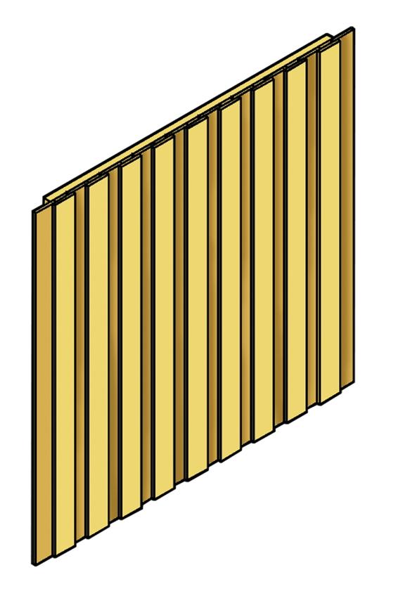 Häufig Carport-WÄNDE SKANHOLZ «Wände für Carport» Seitenwand, Rückwand XH66