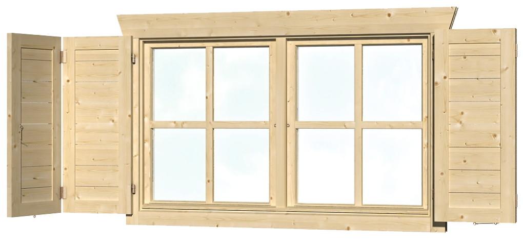fensterladen skanholz fensterladen f r doppelfenster vom garten fachh ndler. Black Bedroom Furniture Sets. Home Design Ideas