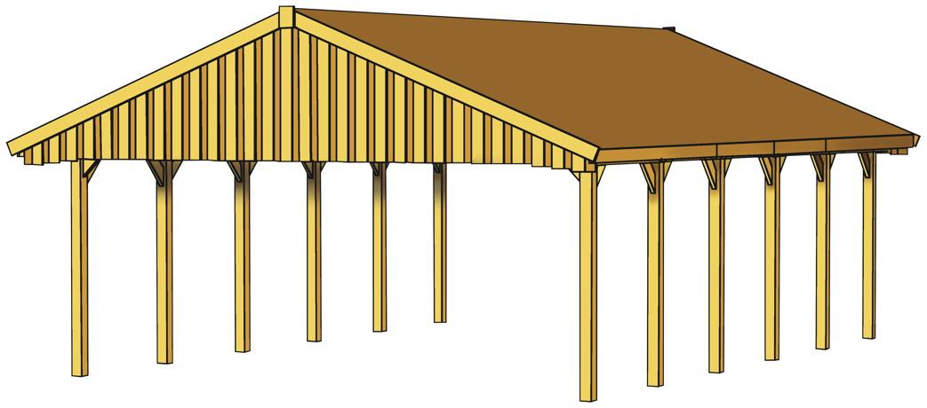 schematische darstellung carport gr e 3. Black Bedroom Furniture Sets. Home Design Ideas