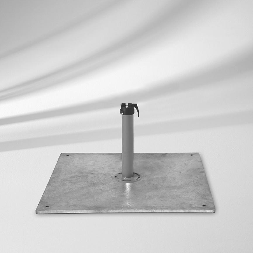 sockel glatz stahlsockel z 40 kg schirmfu vom garten fachh ndler. Black Bedroom Furniture Sets. Home Design Ideas