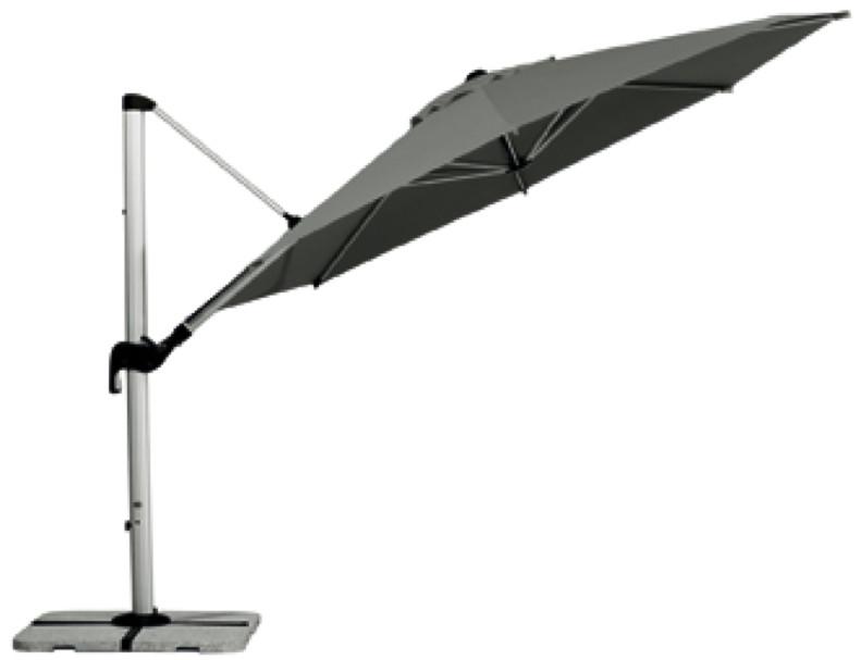 Ampelschirm BEST Madeira 350 kippbar neigbar 360 Grad drehbar Sonnenschirm