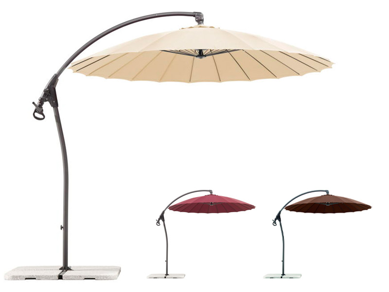 sonnenschirm schneider lotus 270cm ampelschirm hanging parasol. Black Bedroom Furniture Sets. Home Design Ideas