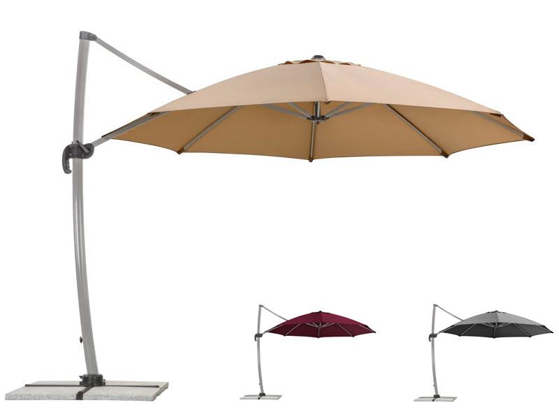 sonnenschirm schneider rhodos rondo 350cm ampelschirm aluminium haning parasol. Black Bedroom Furniture Sets. Home Design Ideas
