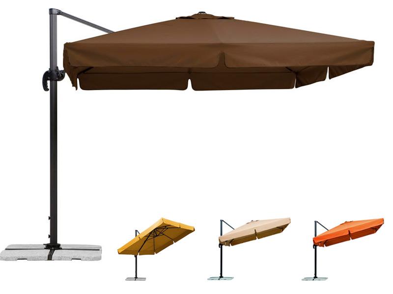 Sonnenschirm SCHNEIDER Rhodos 300x300cm Ampelschirm, Aluminium hanging Parasol