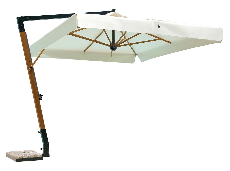Sonnenschirm SCOLARO Napoli Braccio 3x3 Ampelschirm, Aluminium hanging Parasol