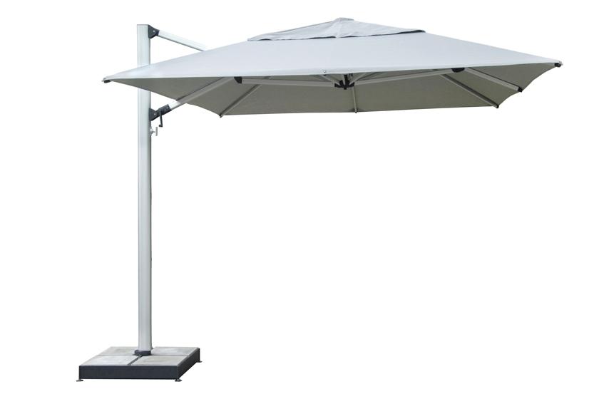 sonnenschirm ampelschirm rechteckig fur balkon With französischer balkon mit sonnenschirm stoff ersatz