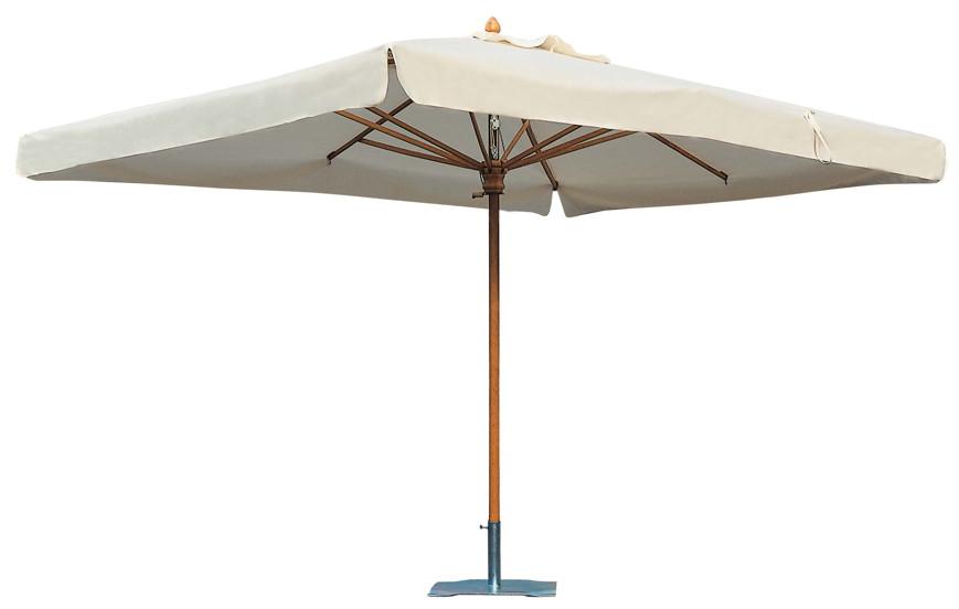 Sonnenschirm SCOLARO Palladio Standard 2x3 Stockschirm, Holzschirm Parasol
