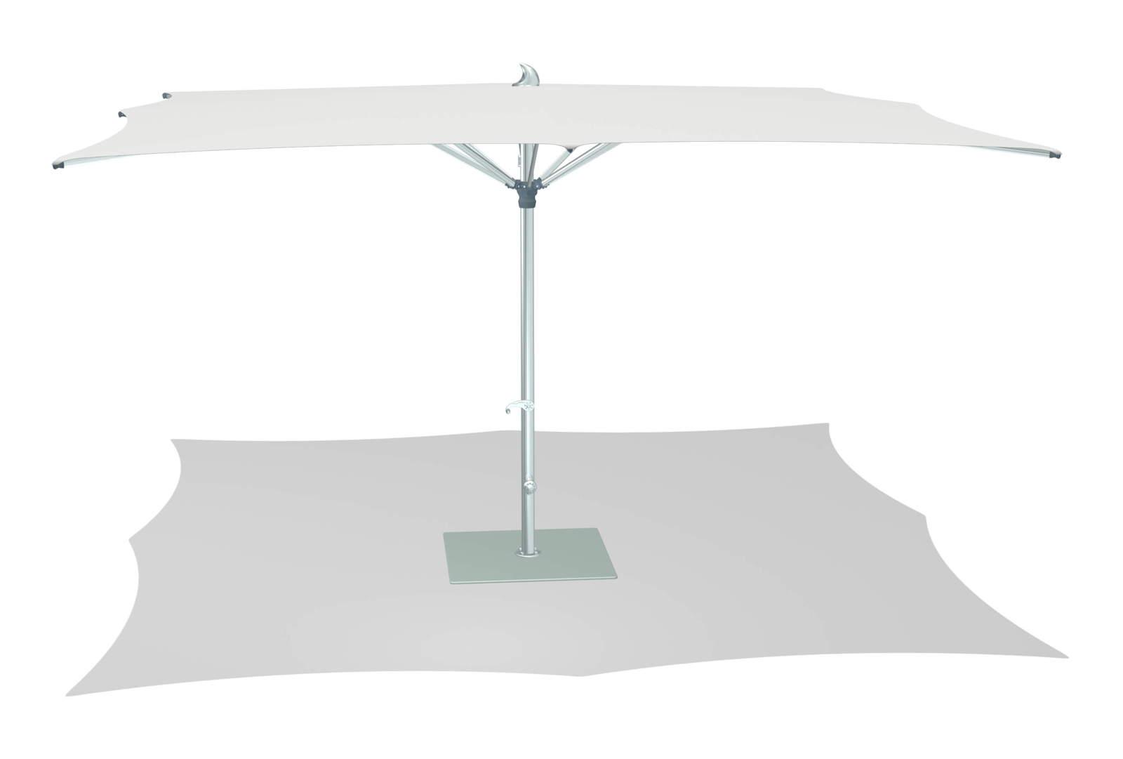 Sonnenschirm TUUCI Ocean Master MAX Zero Horizon 425cm natur Sonnenschutz