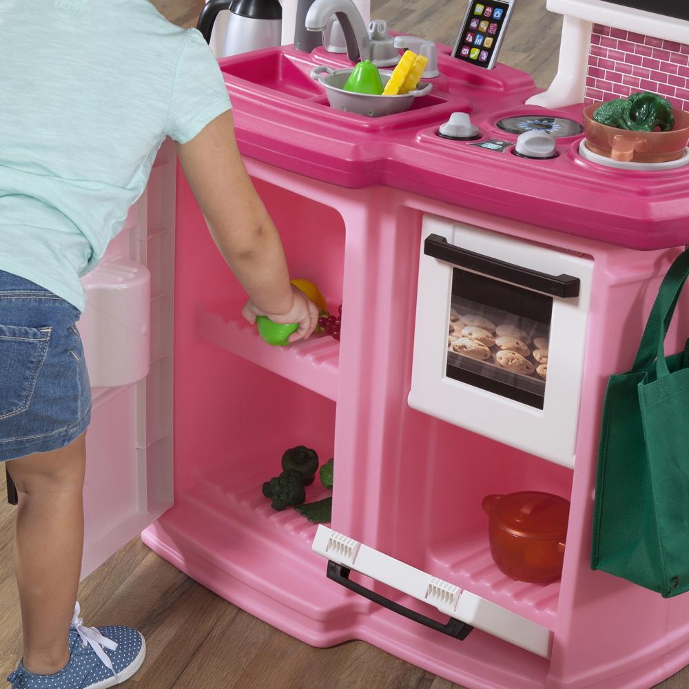 Kinderküche Step 2 «Great Gourmet Küche pink» Kunststoff Küche Spielküche |  vom Spielgeräte-Fachhändler