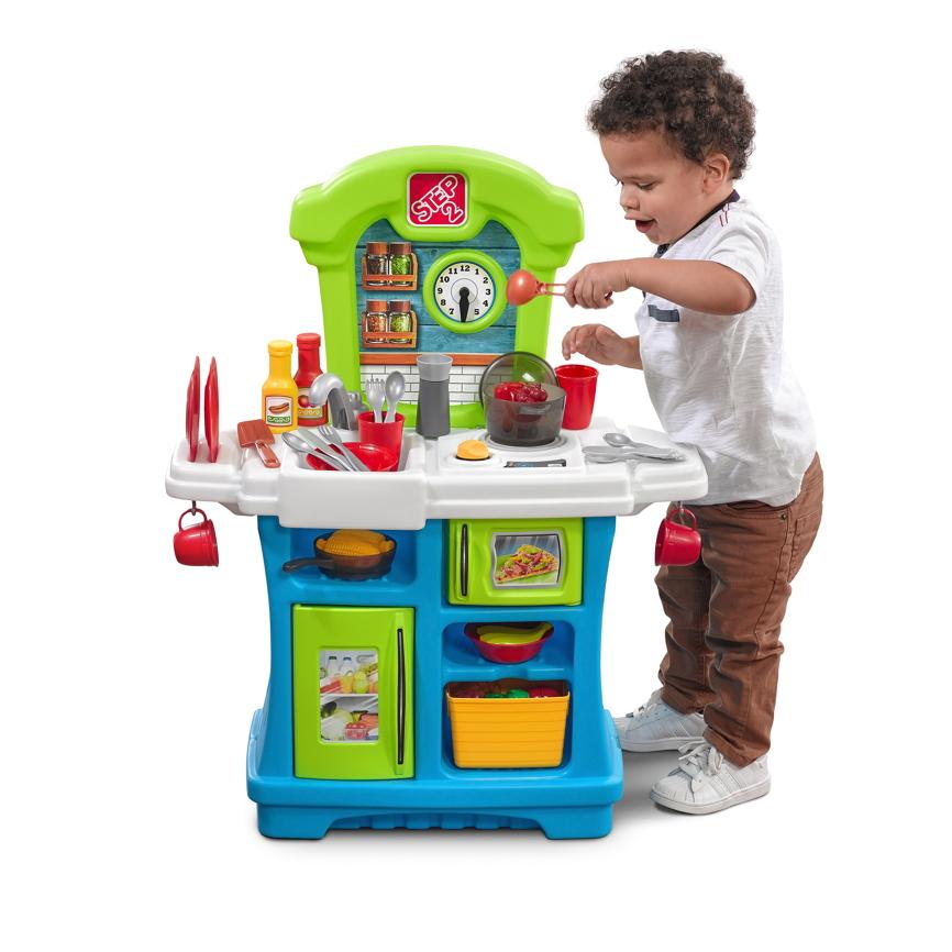 Kinderküche Step 2 «Little Cooks Kitchen» Kunststoff Küche