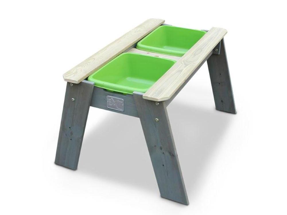 sandkasten exit aksent sandtisch gr e l deluxe spieltisch holztisch kinder. Black Bedroom Furniture Sets. Home Design Ideas