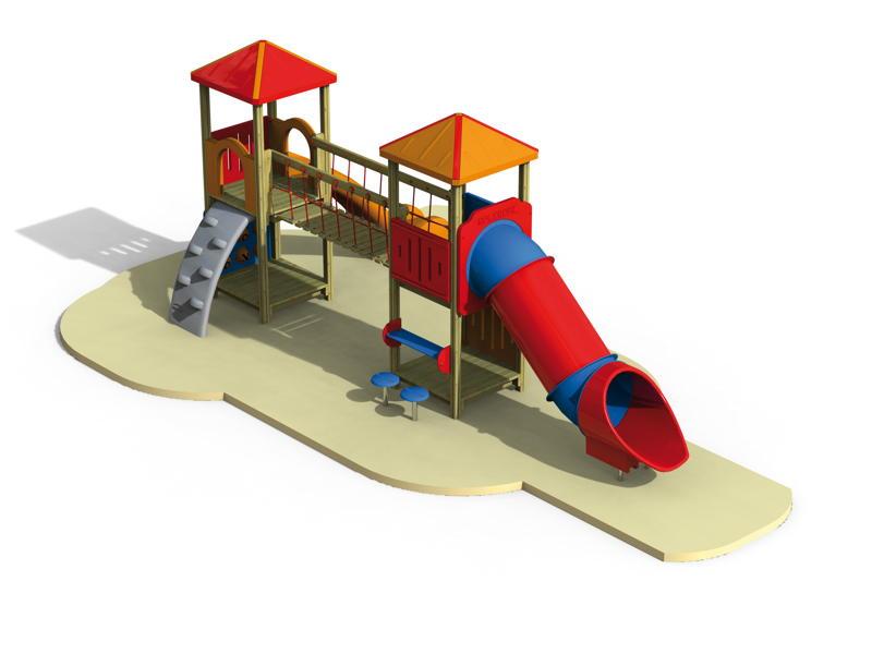 spielturm holzhof max kletterturm mit h ngebr cke tunnelrutsche kinderspielger te f r den. Black Bedroom Furniture Sets. Home Design Ideas