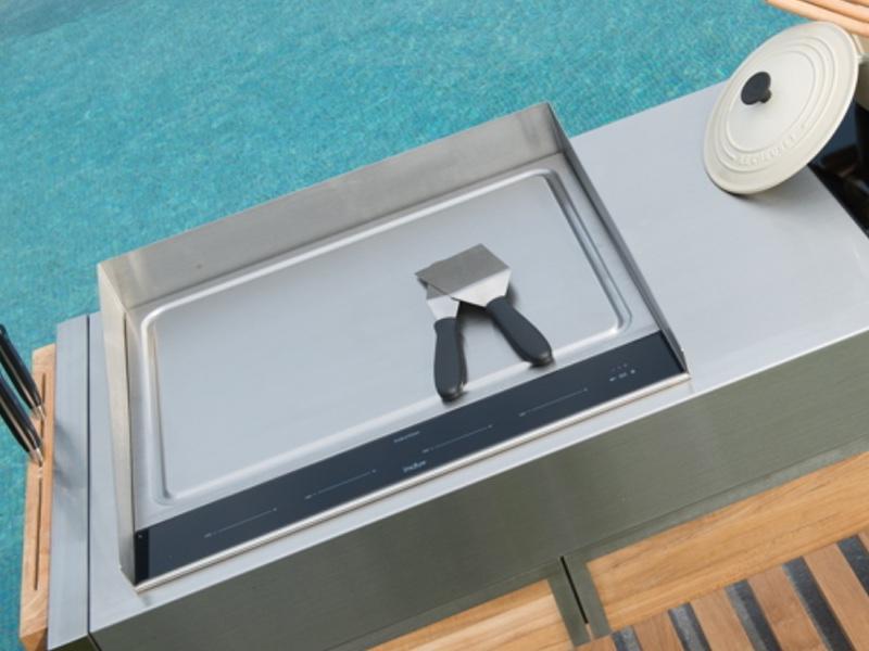 schutz indu spritzschutz f r kochplatte teppanyaki 580 gartenm bel fachhandel. Black Bedroom Furniture Sets. Home Design Ideas