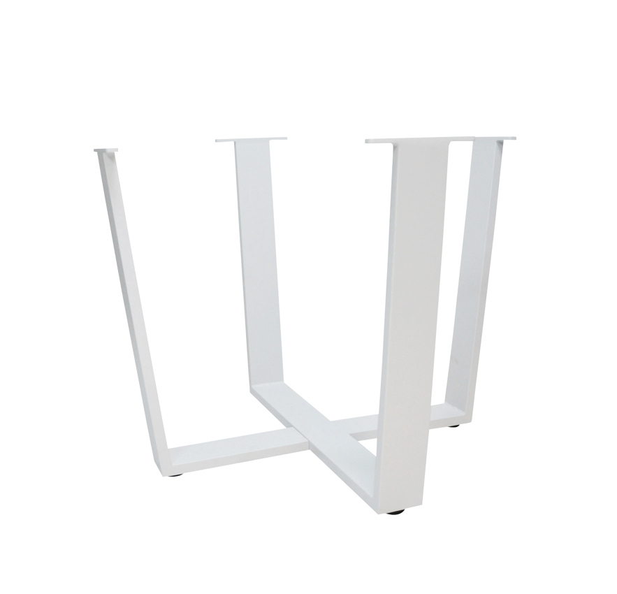 tischbeine 4seasons cricket aluminiumbeine weiss beine. Black Bedroom Furniture Sets. Home Design Ideas