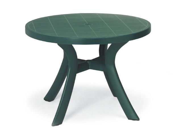 gartenm bel holz tisch rund 04 44 03. Black Bedroom Furniture Sets. Home Design Ideas